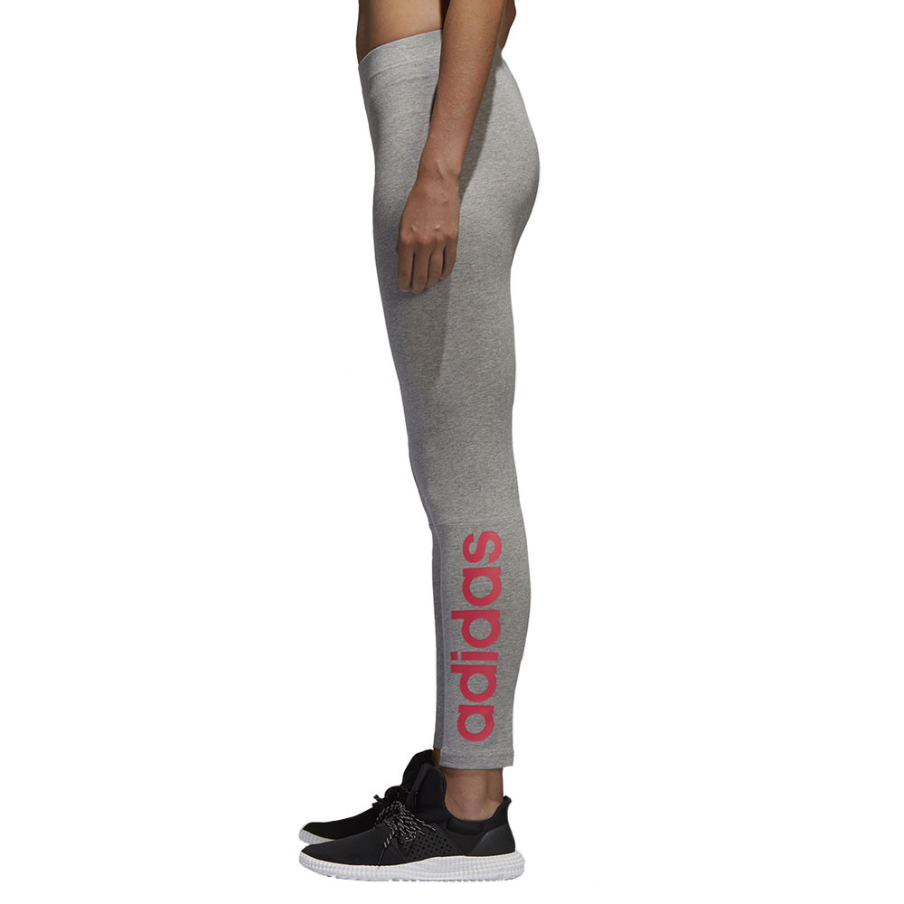 buy online offer discounts new release Essentials Linear Tight Legging Femme ADIDAS GRIS pas cher ...
