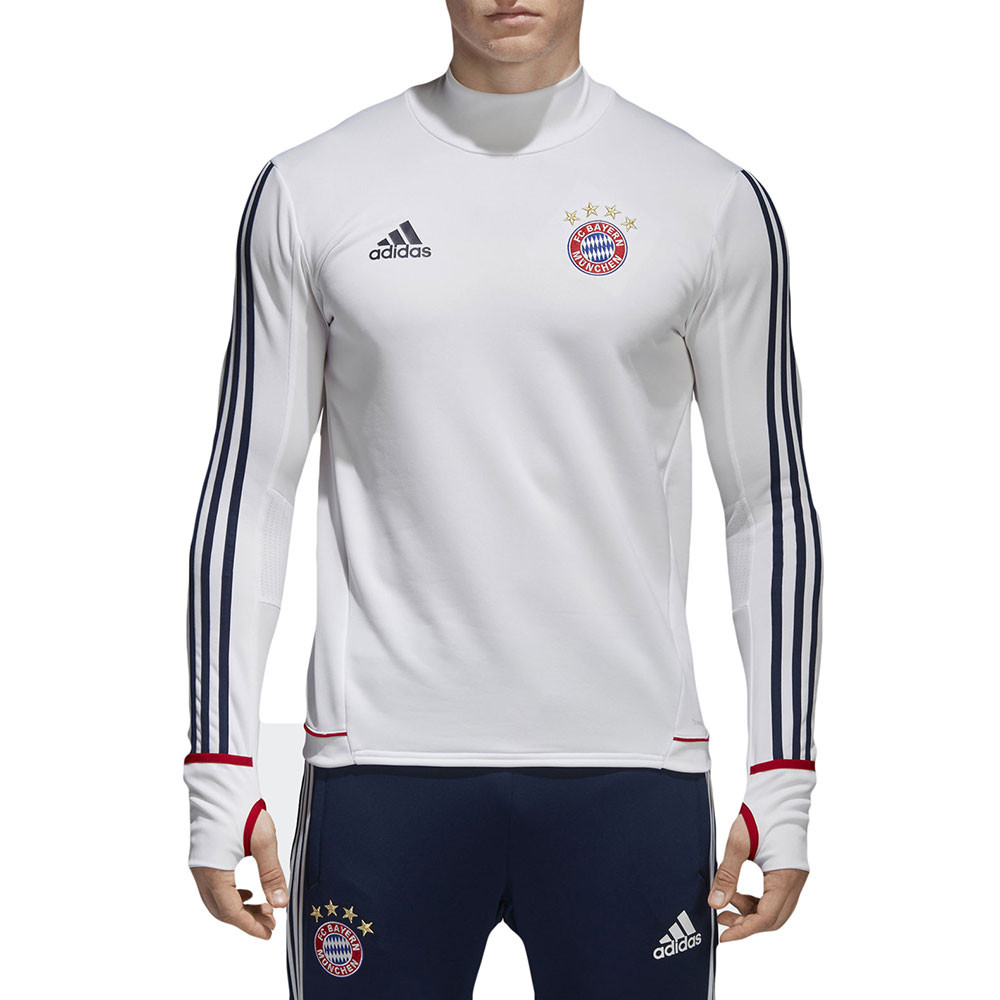 Fcb Trg Top Maillot Ml Training Bayern Munich Homme ADIDAS