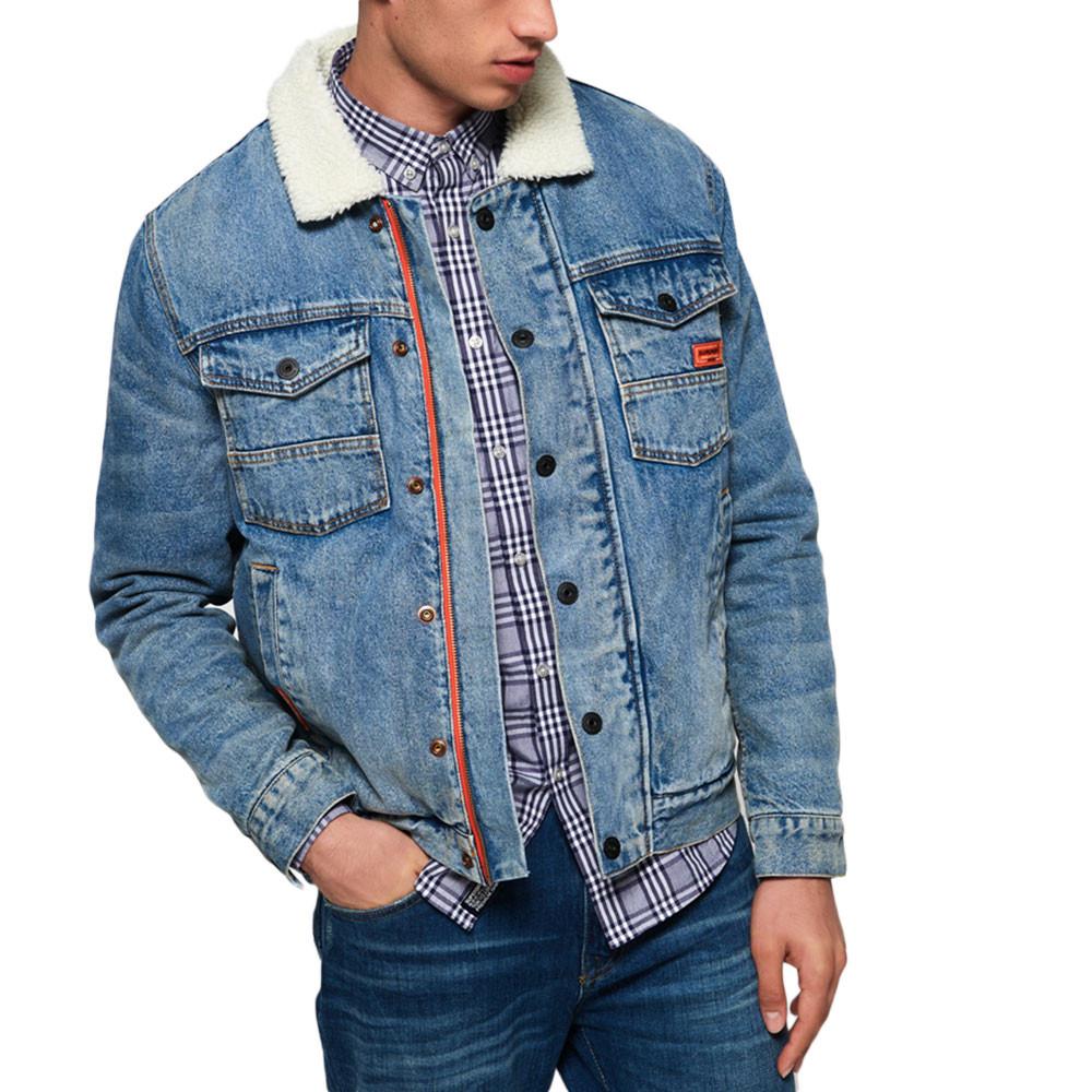Haciendra Denim Veste En Jeans Homme