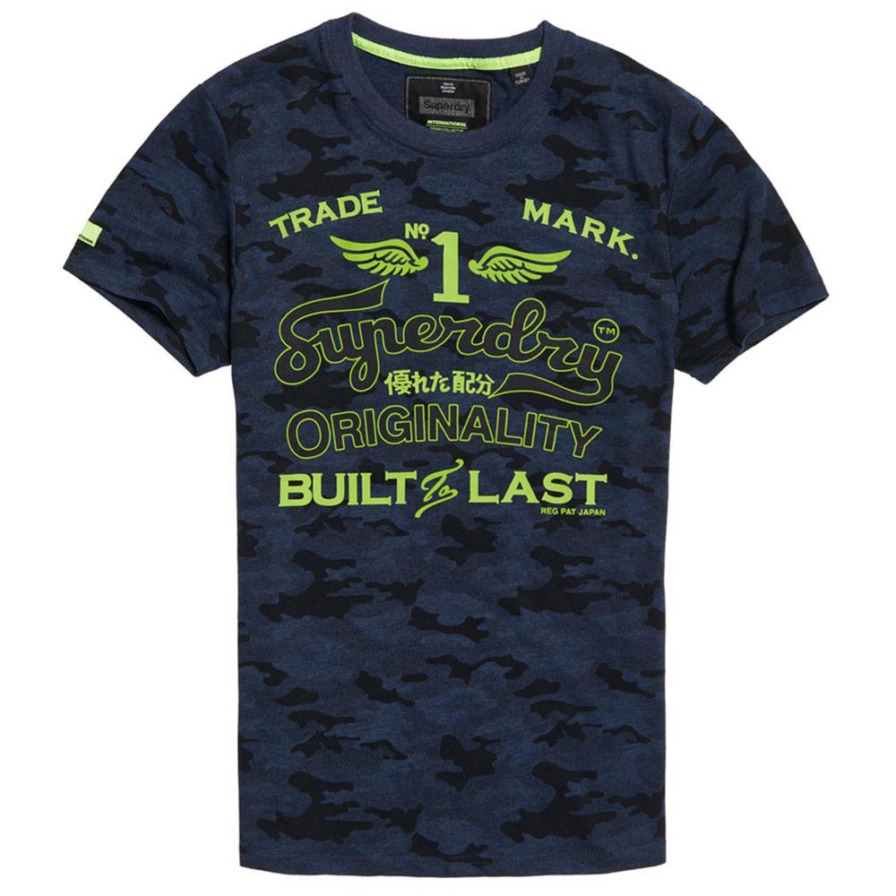 High Flyers Low Rollr Camo T-Shirt Mc Homme