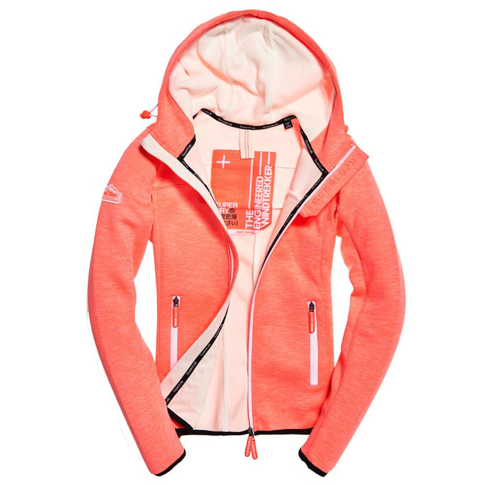 Hooded Prism Sweat Zip Femme