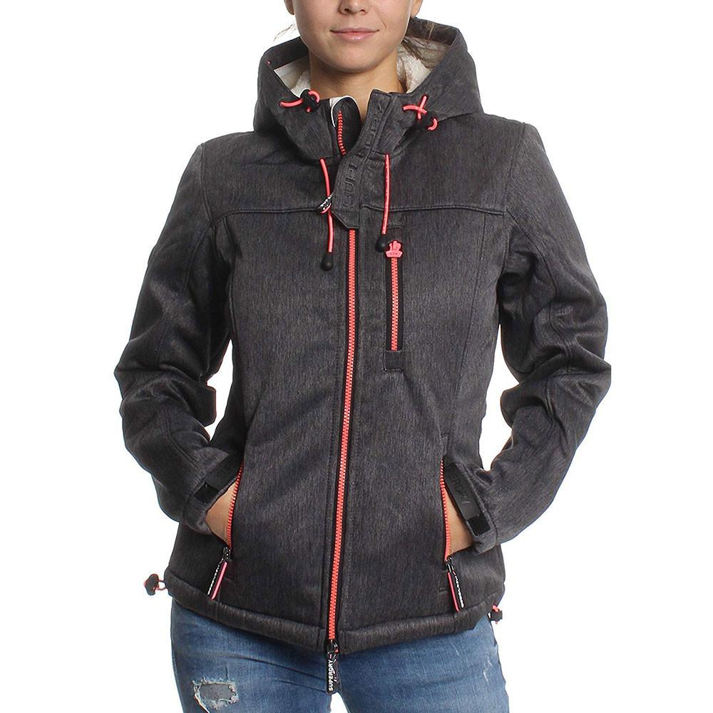 Hooded Sherpa Blouson Femme