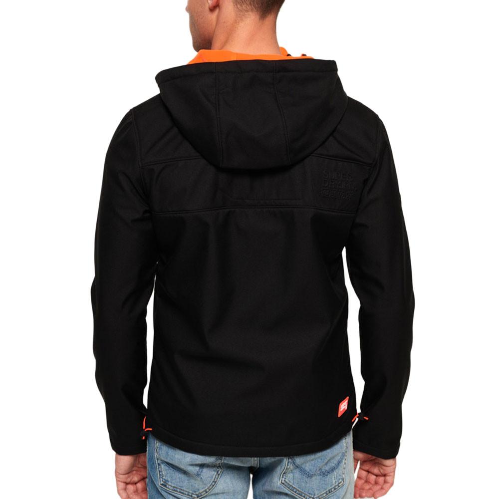 Hooded Windtrekker Veste Homme