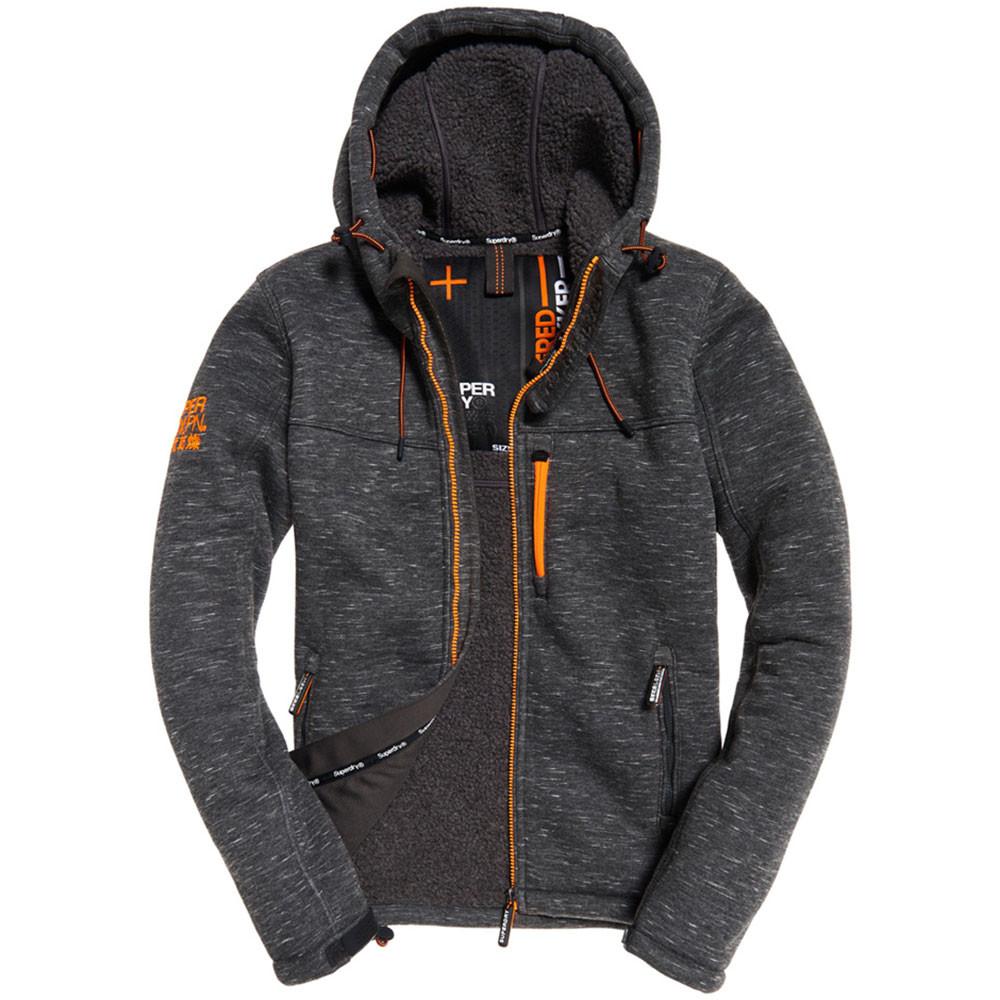 Hooded Winter Windtrekker Veste Homme
