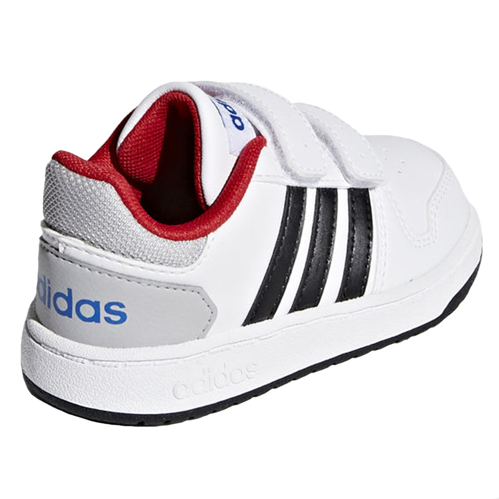 Hoops 2.0 Cmf Chaussure Bebe Garcon ADIDAS BLANC pas cher