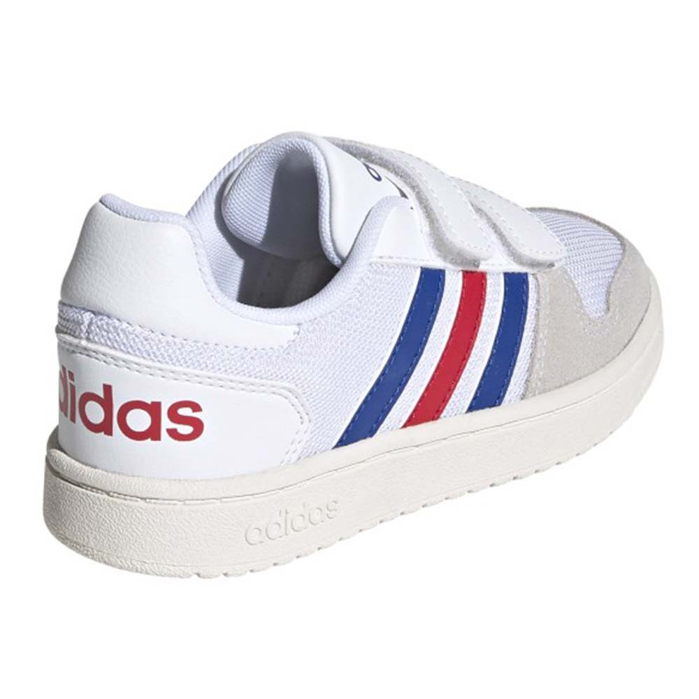 Hoops 2.0 Cmf Chaussure Enfant ADIDAS BLANC pas cher - Baskets ...