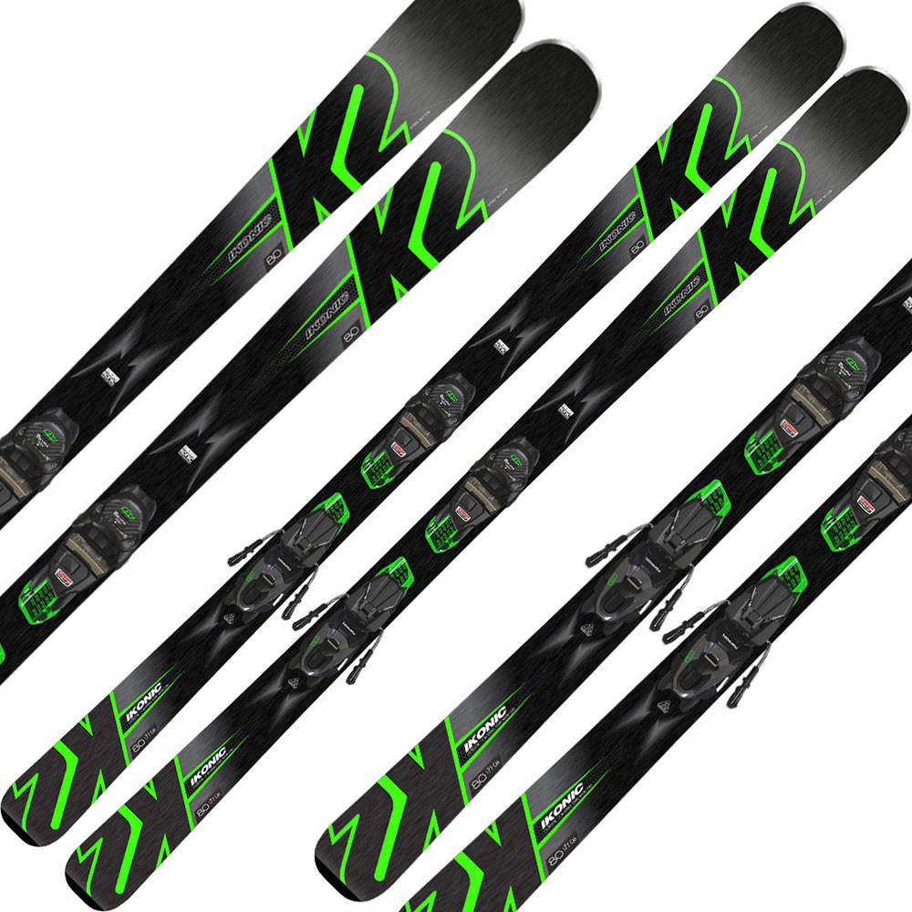 Ikonic 80 Ski + M3 11 Tcx Light Quikclik Fixation Homme