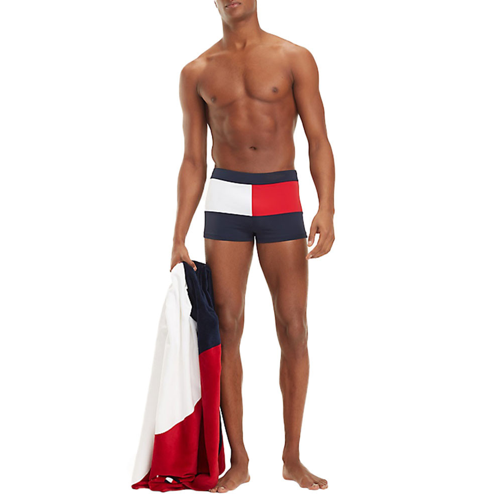 Knit Trunk Shorty De Bain Homme