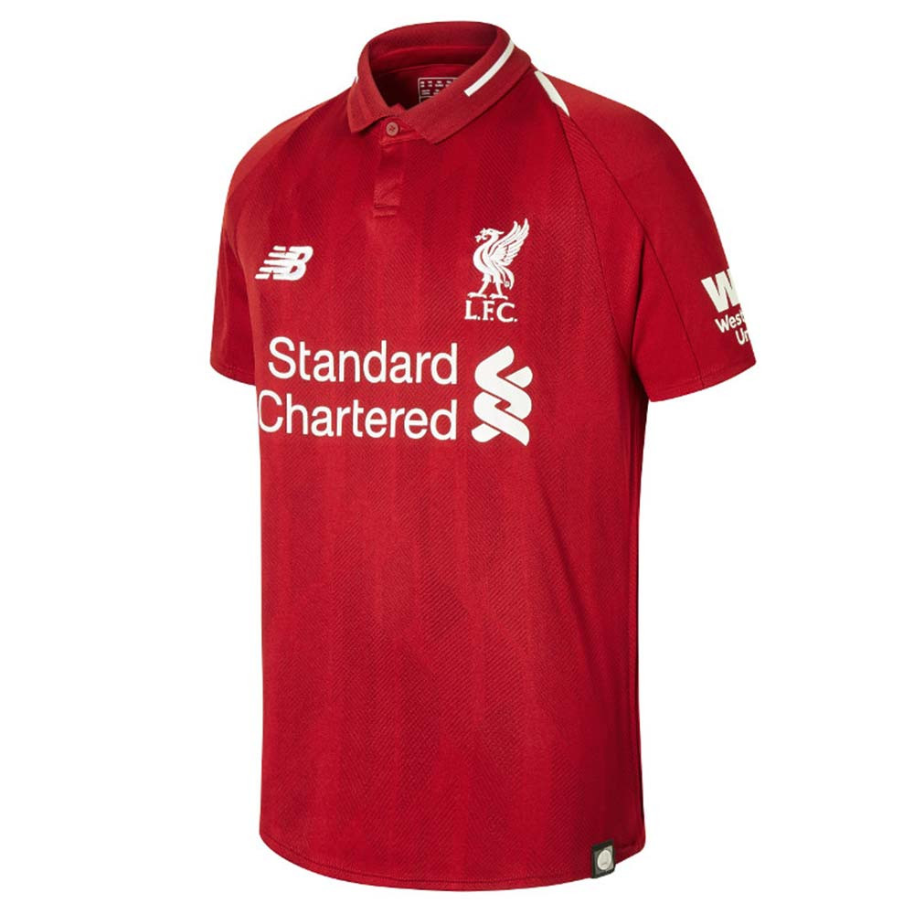 Liverpool Fc Home Ss Jers Maillot Foot Enfant