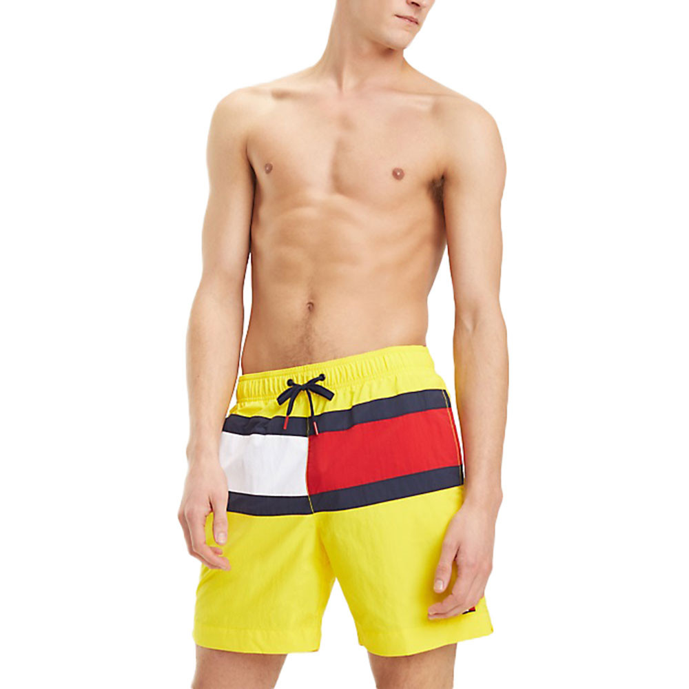 Long Drawstring Short De Bain Homme