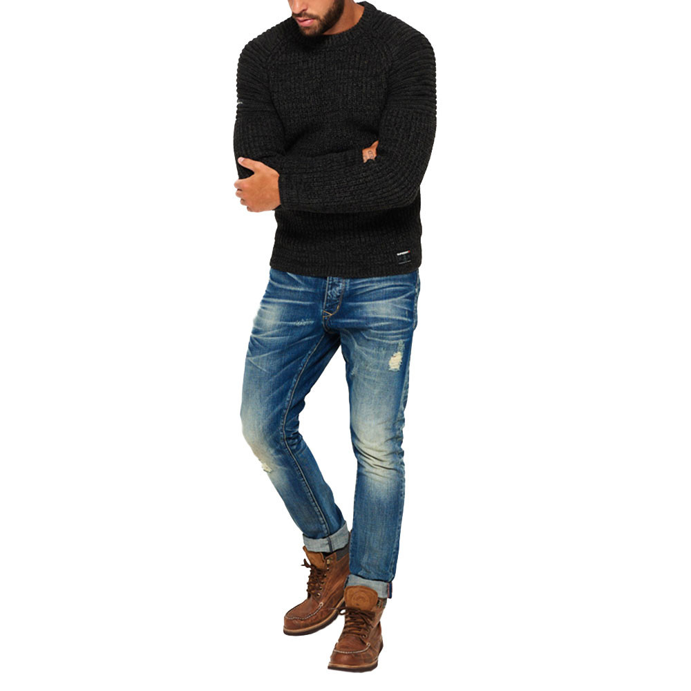 Loose Tapered Jeans Homme