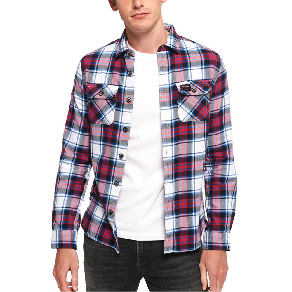 Lumberjack Lite Shirt Chemise Ml Homme