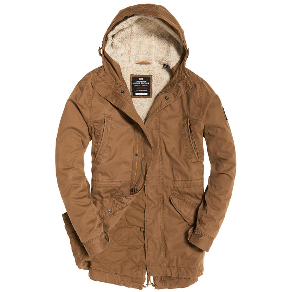 New Military Parka Homme