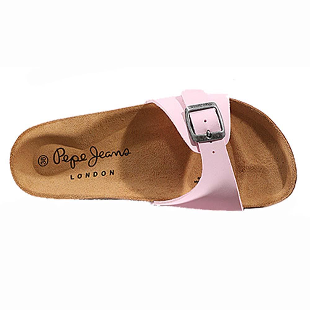 Ckl1j35utf Cher Pas Femme Champion Rose Oban Pepe Sandale Sandales Jeans yNOmnw8v0