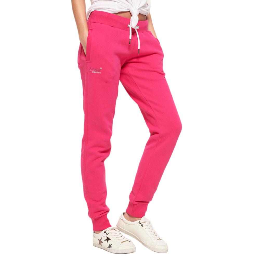 Orange Label Slim Pantalon Jogging Femme SUPERDRY ROSE pas ...