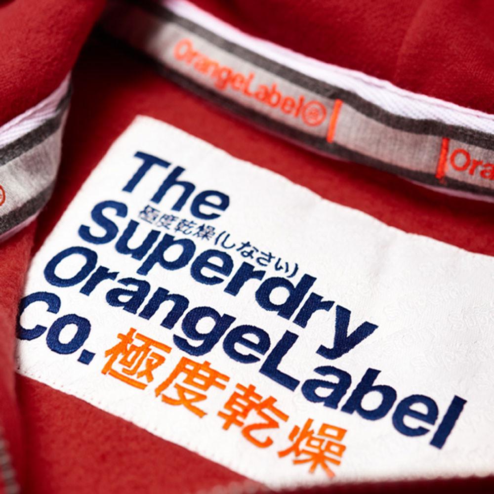 Orange Label Sweat Zip Femme