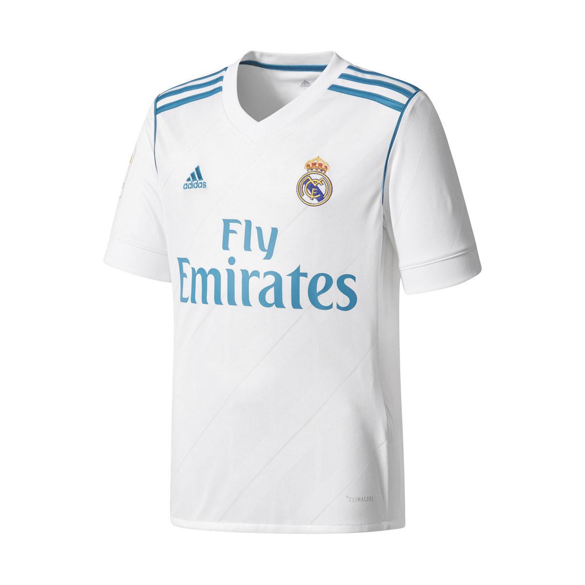 Real H Maillot Domicile Real Madrid Garçon