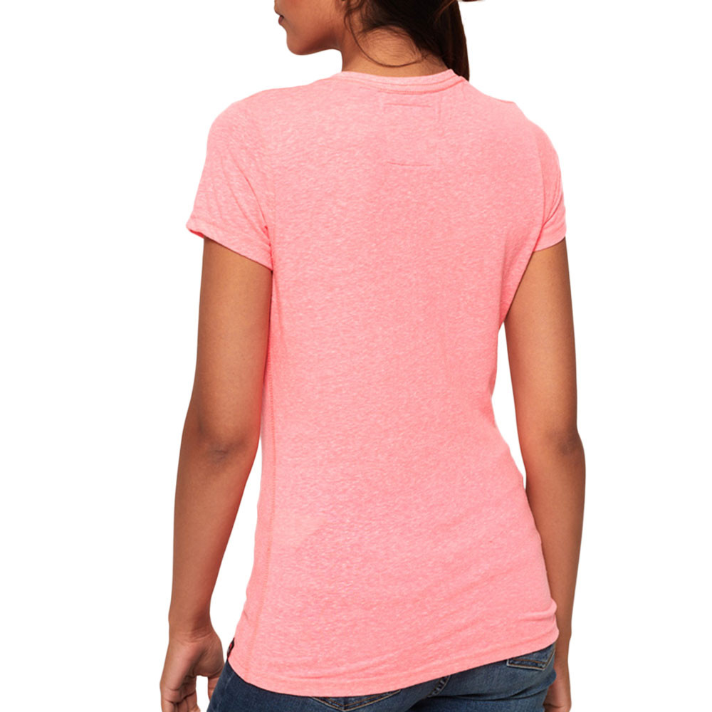 Real Heritage Duo Entry T-Shirt Mc Femme