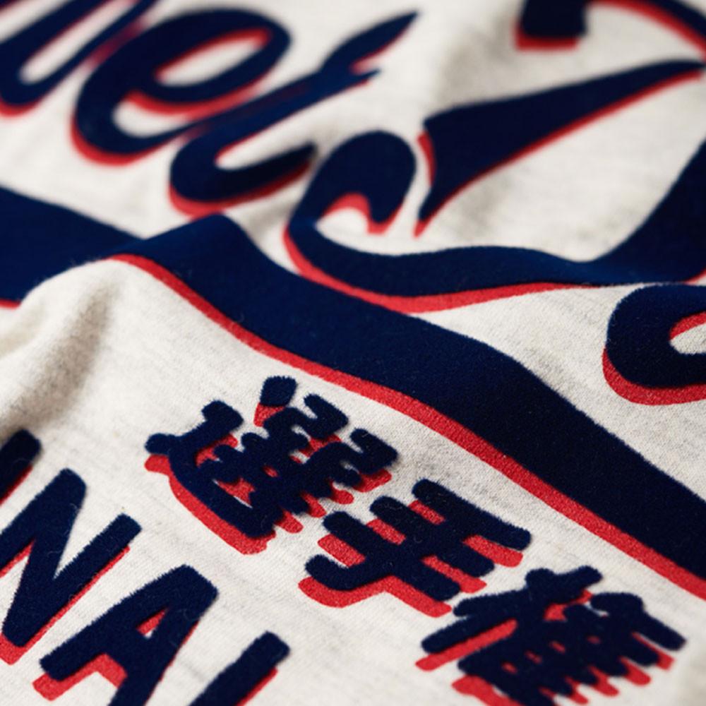 Real Original Shadow Knot T-Shirt Mc Femme