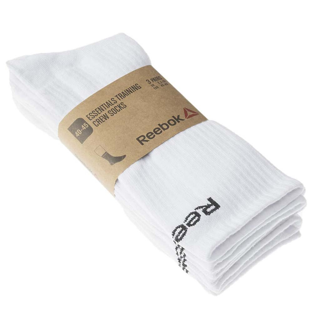 Reebok Essential Crew Pack 3 Chaussettes Adulte