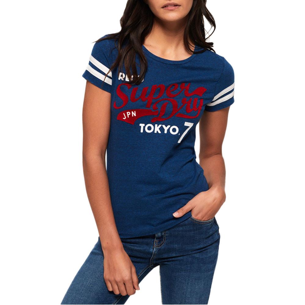 Retro Entry T-Shirt Mc Femme