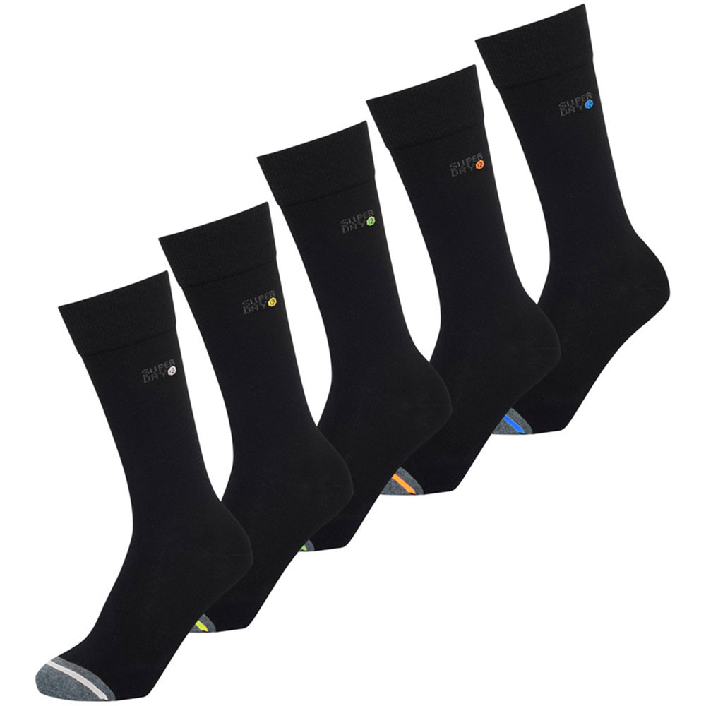 Sd Jacquard Pack 5 Chaussettes Homme