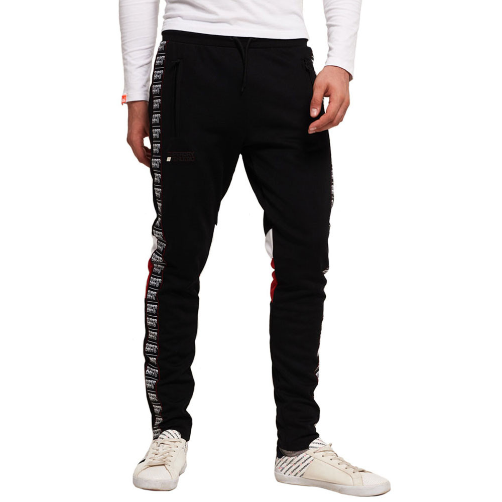 Sd Tricot Panelled Track Pantalon Jogging Homme