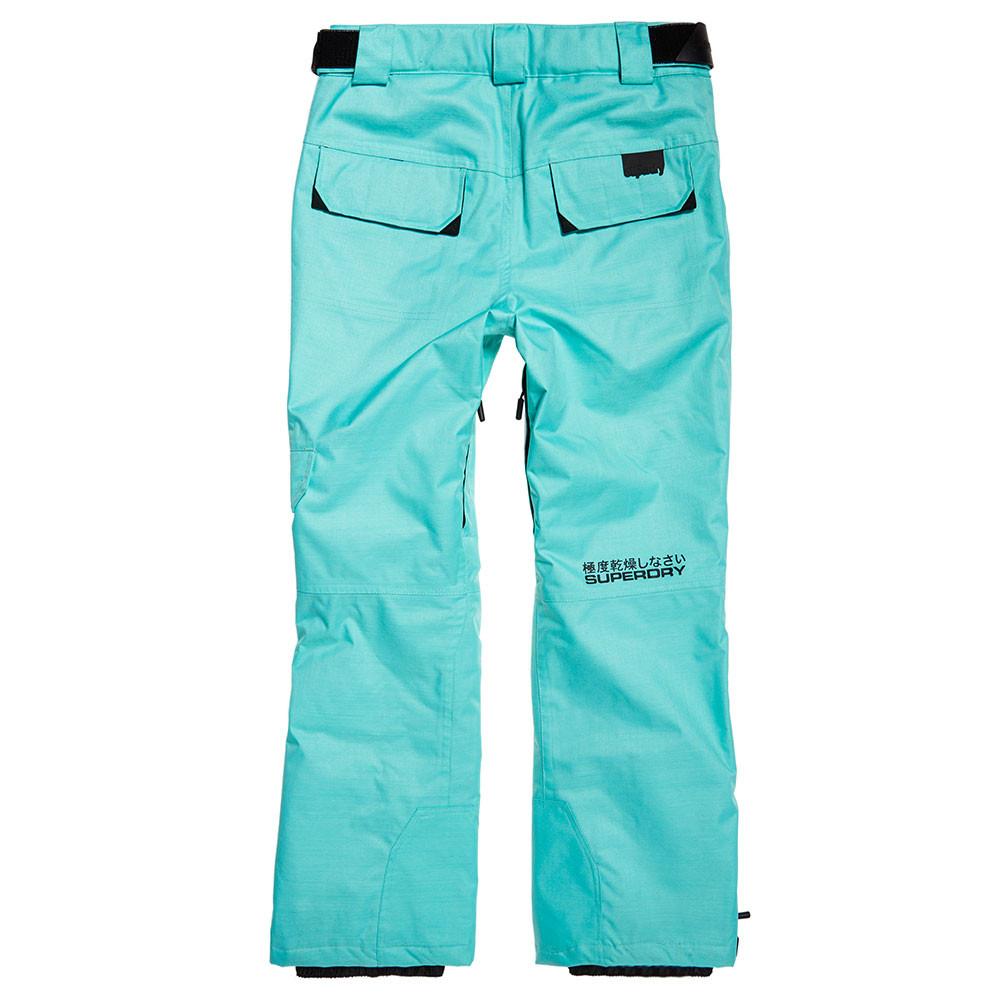 Ski Cher Pantalon Femme Snow Superdry Bleu Pas Et Pantalons oBCrdxeQW