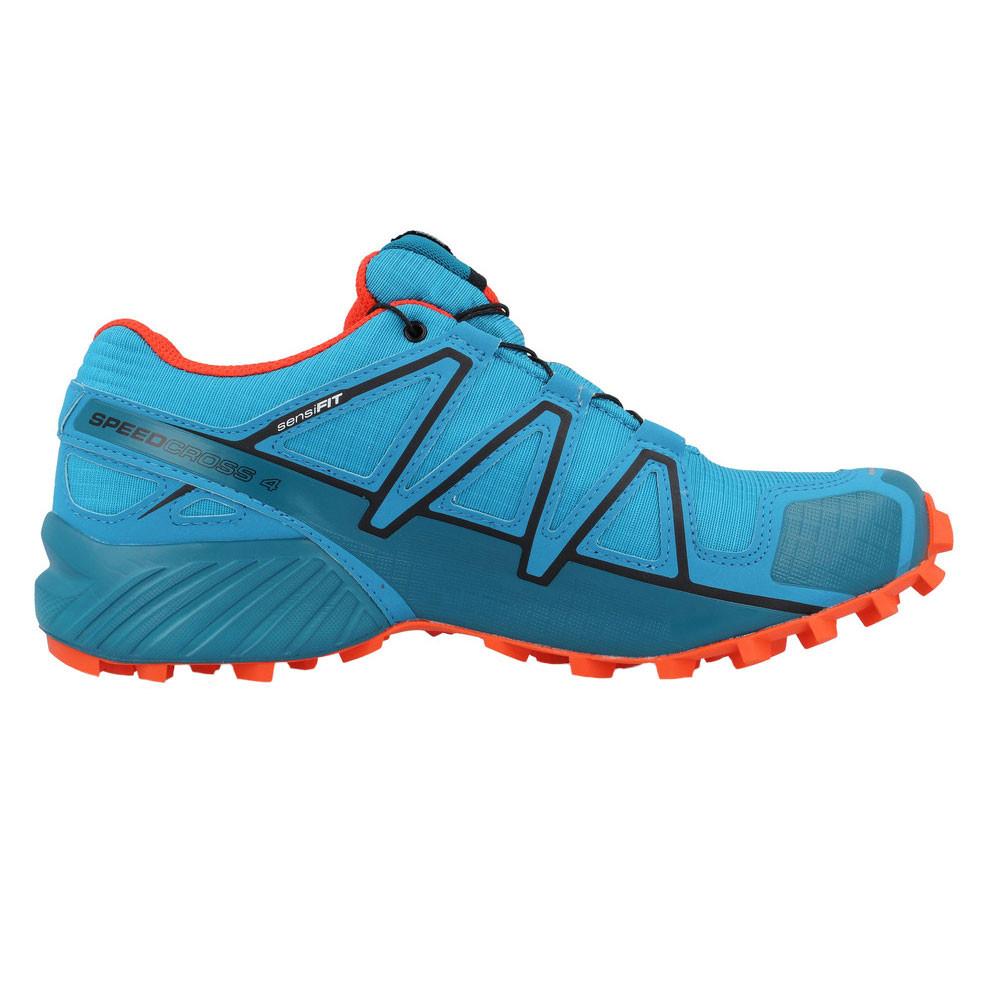 salomon speedcross 4 gtx bleu orange 60