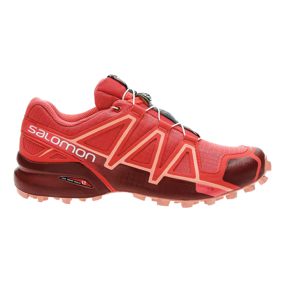 4 W Chaussures Femme Rouge Speedcross Chaussure Salomon Pas Cher IbvmfgyY76