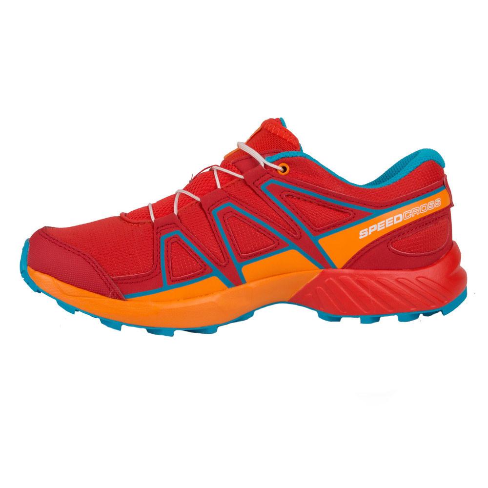 Chaussures de trail enfant Salomon Speedcross Junior coloris Fiery Red Bright Mar