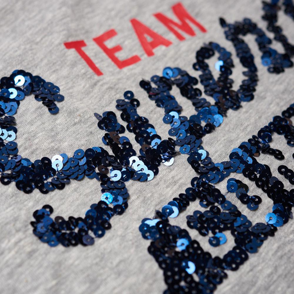 Team Comets Sequin Entry Vest Débardeur Femme