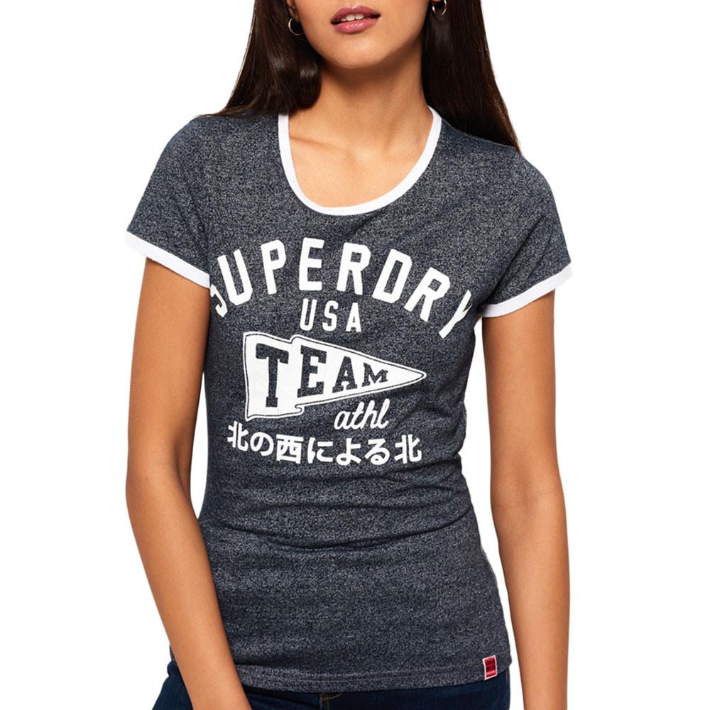 Team Ringer Entry T-Shirt Mc Femme