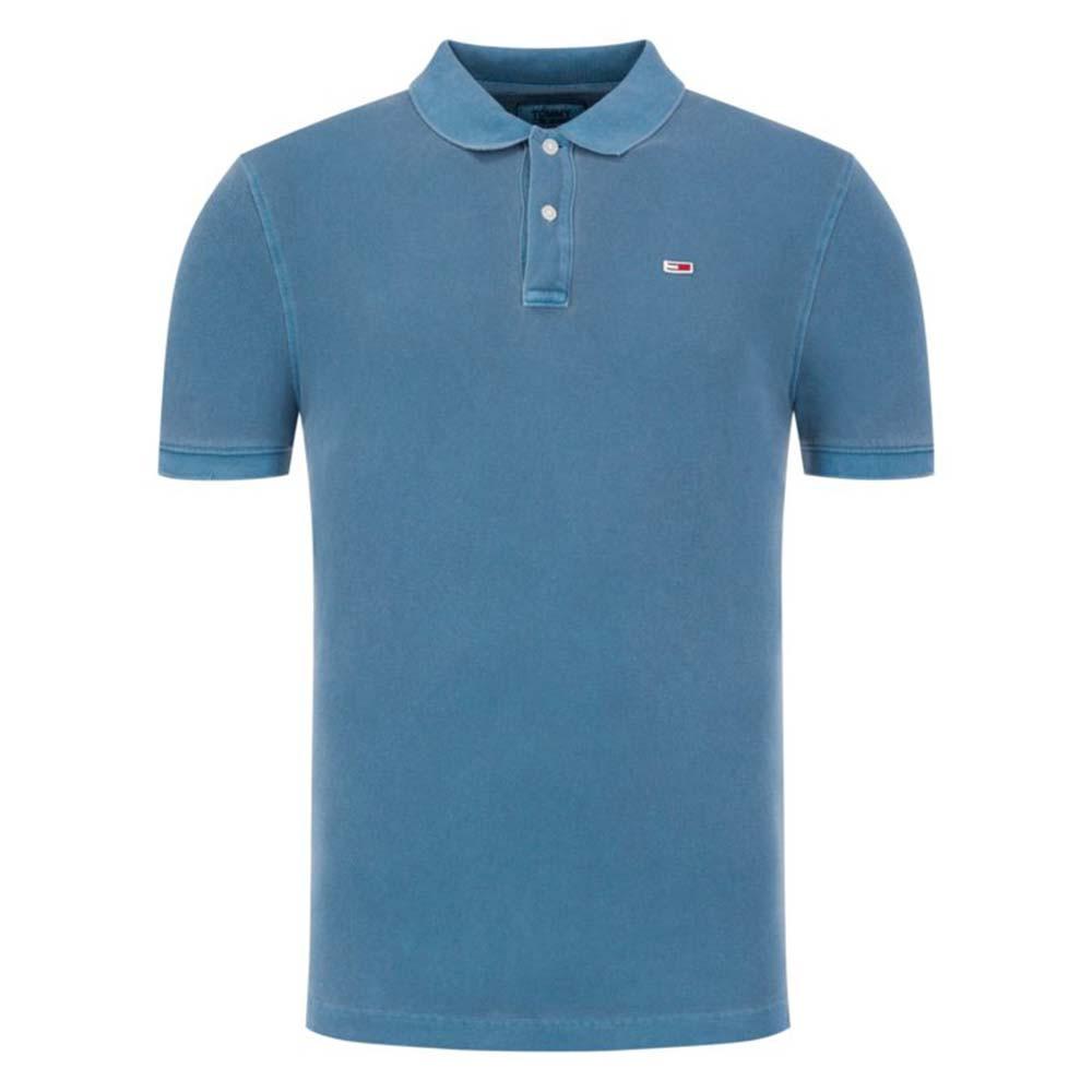 Tjm Garment Dye Polo Mc Homme