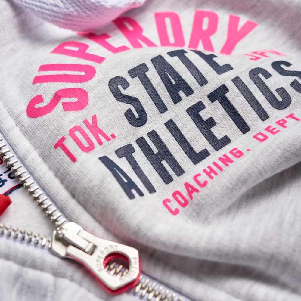 Track & Field Sweat Zip Femme