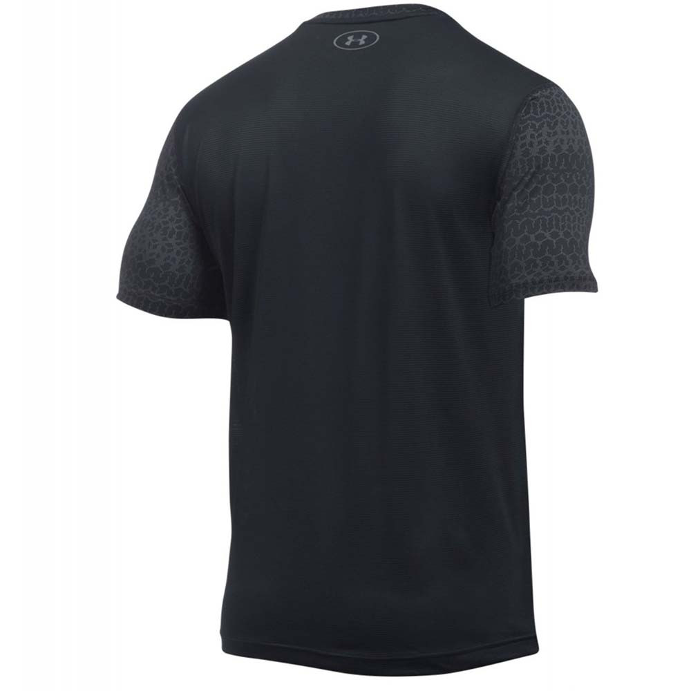 Ua Raid Jacquard T-Shirt Mc Homme