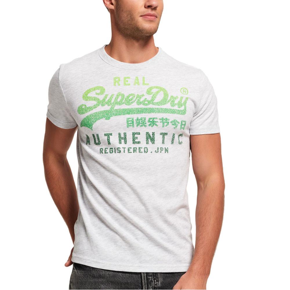 Vintage Authentic Fade T-Shirt Mc Homme