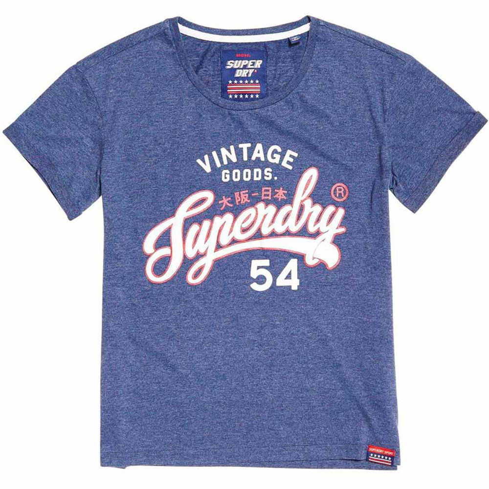 Vintage Goods Slim Bf T-Shirt Mc Femme