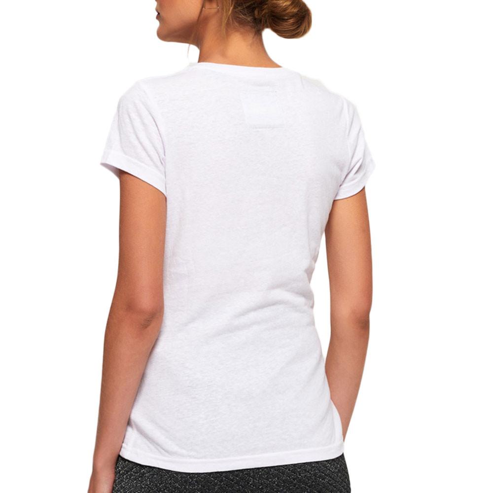 Vintage Logo Sparkle Entry T-Shirt Mc Femme