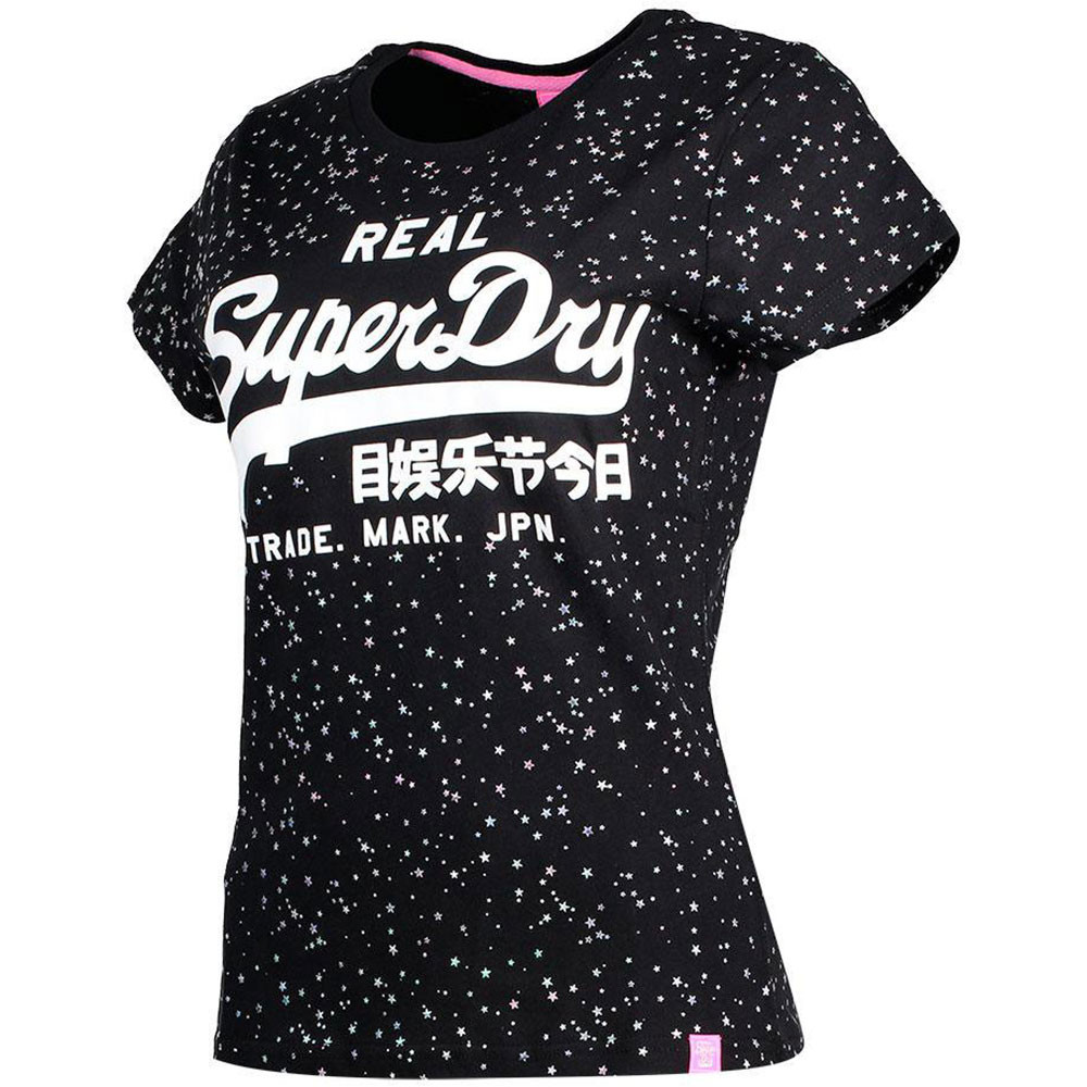 Vintage Logo Star Aop Entry T-Shirt Mc Femme