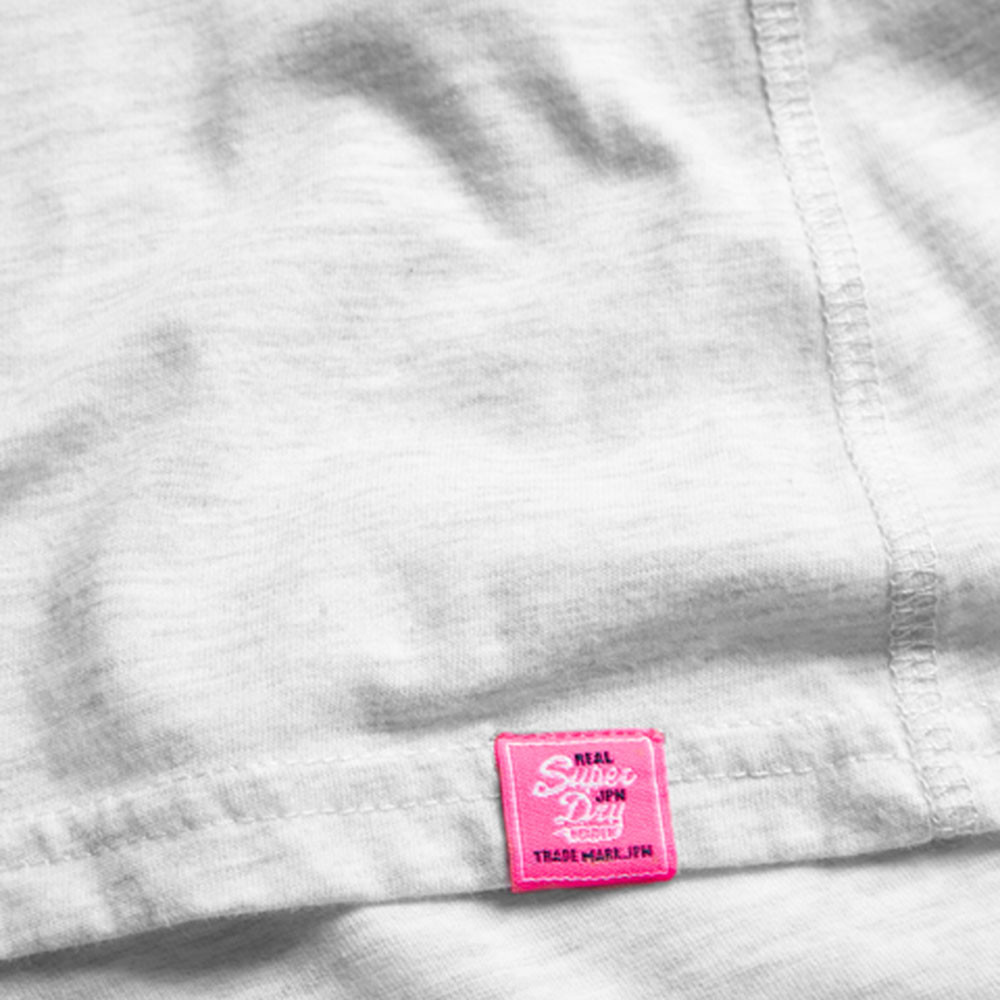 Vintage Logo Wrap Slim Bf T-Shirt Mc Femme
