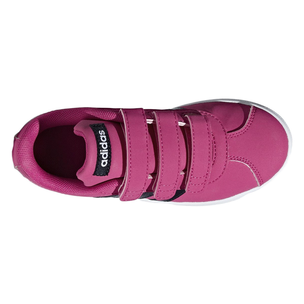 Vl Court 2.0 Cmf C Chaussure Fille ADIDAS ROSE pas cher