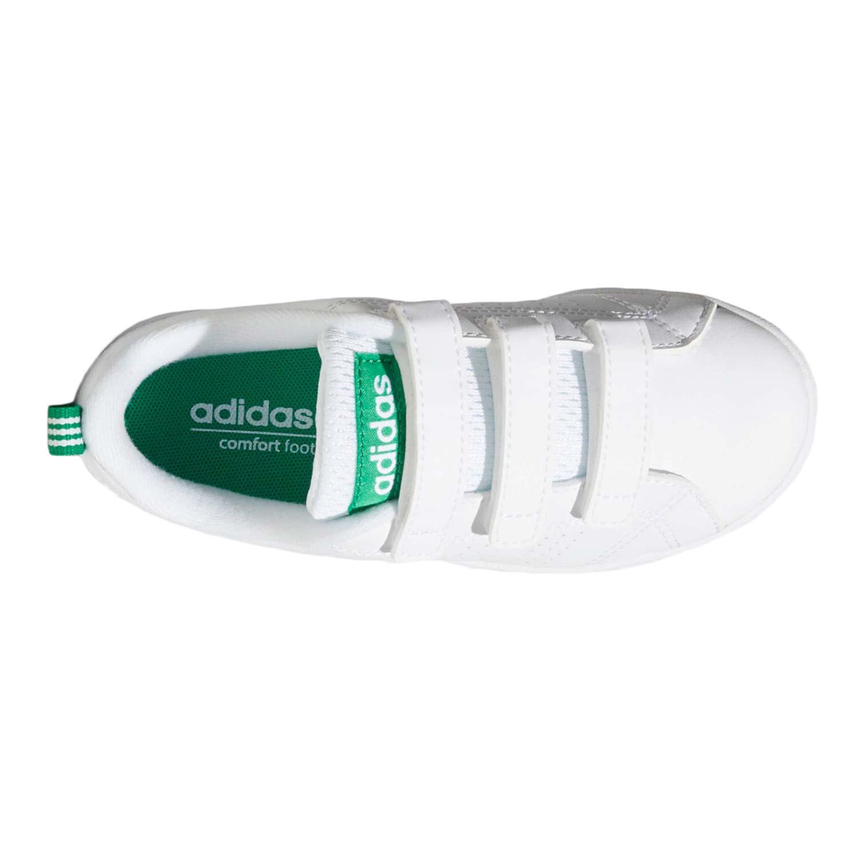Vs Advantage Clean Chaussure Velcro Garçon ADIDAS BLANC pas cher ...
