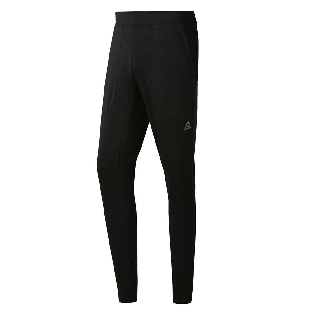 Wor Melange Dbl Knt Pantalon Jogging Homme