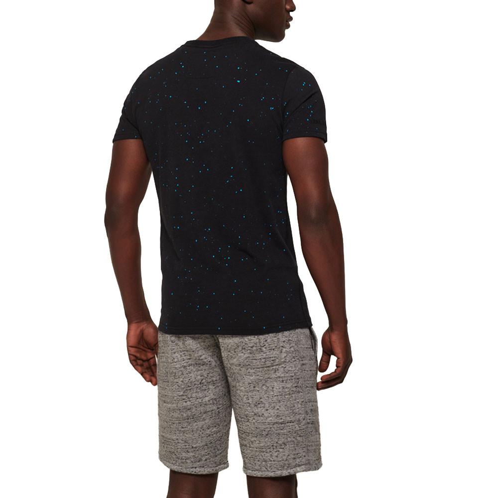 Worldwide Ticket Type Splat T-Shirt Mc Homme
