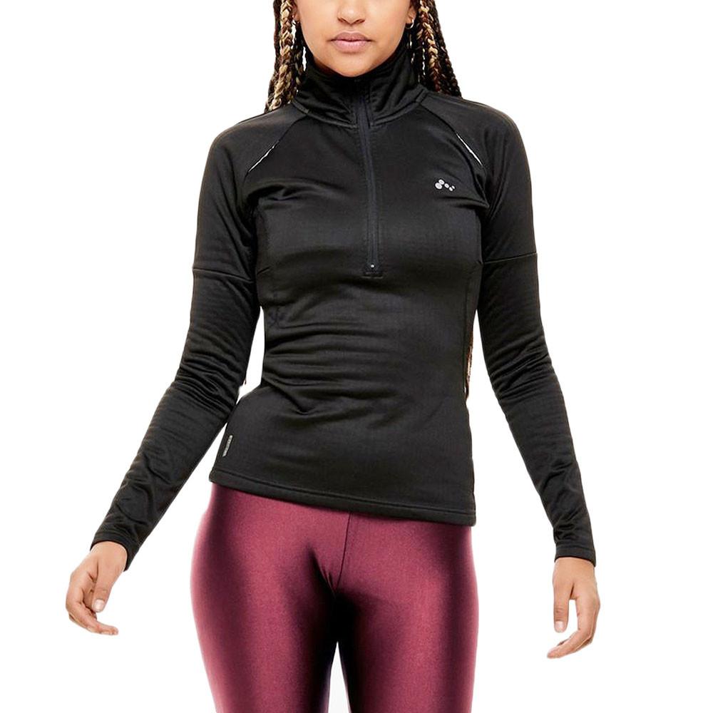 Wynona Run Brushed Sweat 1/2 Zip Femme