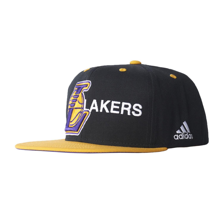 Cap Lakers Casquette Homme ADIDAS NOIR pas cher Casquettes