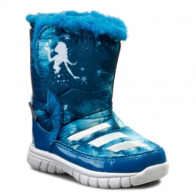 Frozen Disney Mid Bébé Adidas Pas Cher Bleu Chaussure Fille dCBorxeW