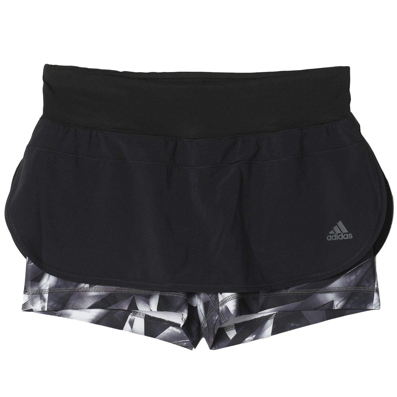 Gym 2 In Skort Short Femme ADIDAS NOIR pas cher - Shorts de fitness ... 131b0204a8f