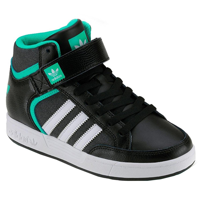 Chaussure J Enfant Pas Baskets Cher Adidas Basses Mid Noir Varial WI29EDH